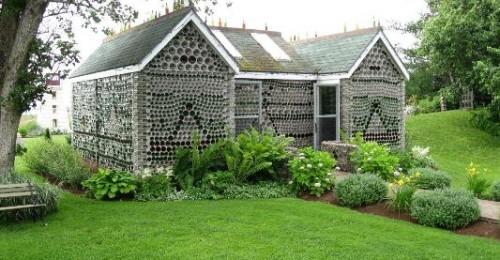 Bottle Houses / Maisons de Bouteilles is an attraction in Cape-Egmont, Prince Edward Island