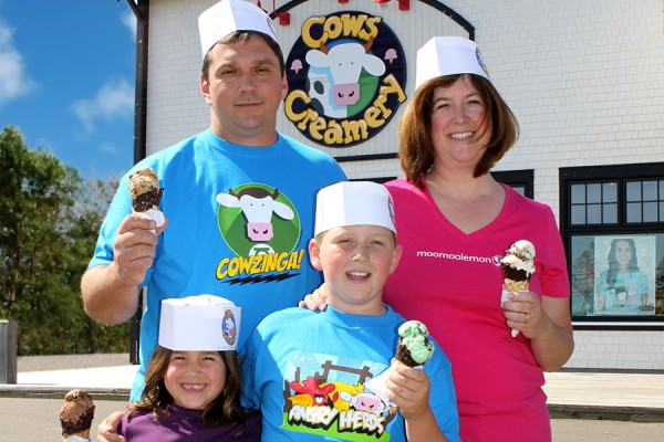 COWS CREAMERY Free Tours