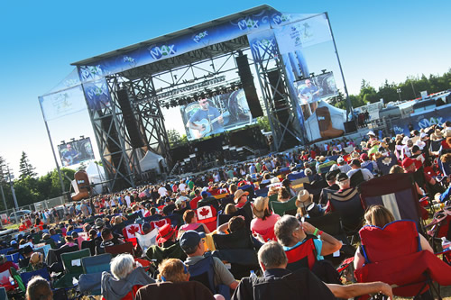 LOTTO MAX presents the Cavendish Beach Music Festival