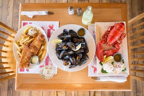 Lobster on the Wharf, Charlottetown, PEI
