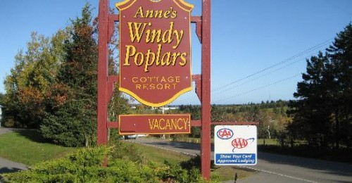 Anne's Windy Poplars, Prince Edward Island