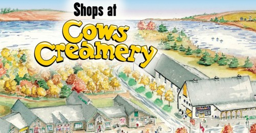 Shops at COWS CREAMERY crop