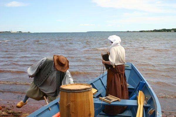 Fish Tales & Tall Ships … 1700s Cod Fishery