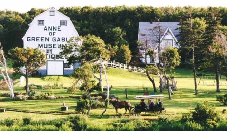 Anne of Green Gables Museum, located in Park Corner, PEI