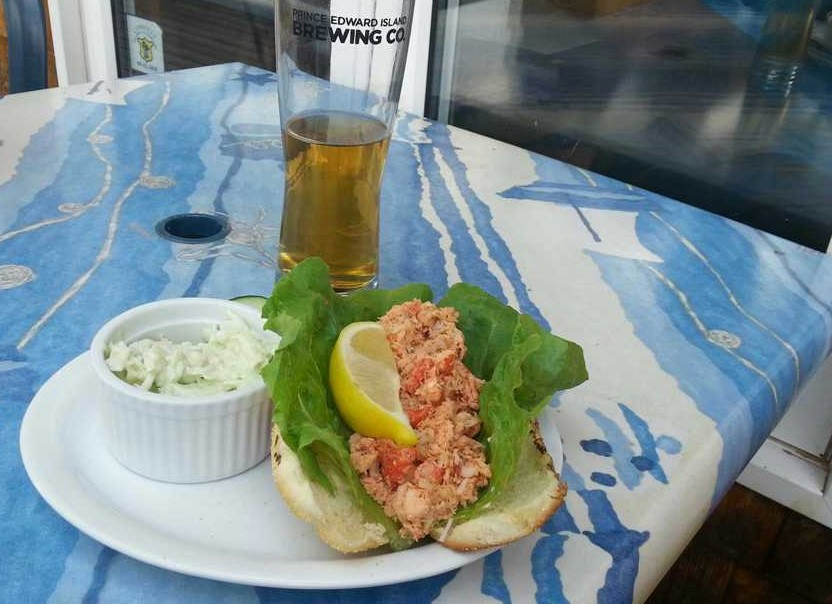 Rick s fish and chips lobster roll welcome pei for Rick s fish and pet