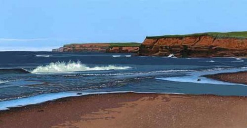 Breaking Waves - Cousins Shore - Tony Diodati, PEI Tourism