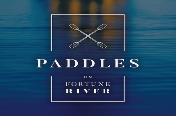 Paddles on Fortune River