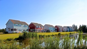 Rodd Crowbush is one of many Rodd Hotels and Resorts on Prince Edward Island. This is a photo of their executive cottages.