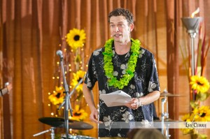 Patrick Ledwell - Co-host of the Lamb Luau