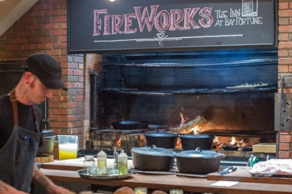 FireWorks – The Inn At Bay Fortune