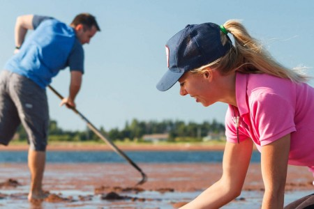 Clam Digging - Photo by Stephen Desroches