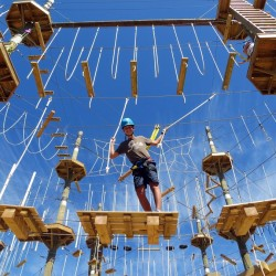 Rise and Climb Adventure Course, Cornwall, PEI